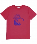 T-Shirt Seahorse -Rouge